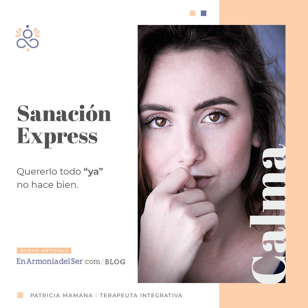 """Sanación """"Express"""""""